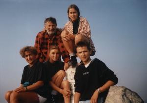 rodzina na Rysach